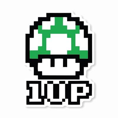 Vida 1UP Sticker