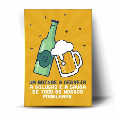 Um Brinde a Cerveja!
