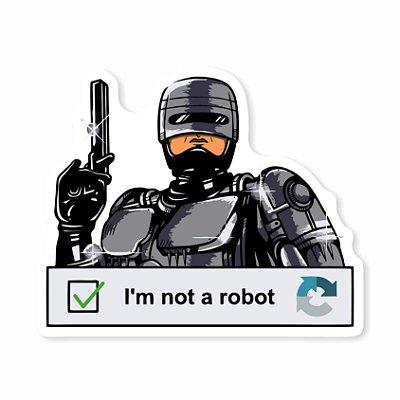 Robocop - I'm not a robot Sticker