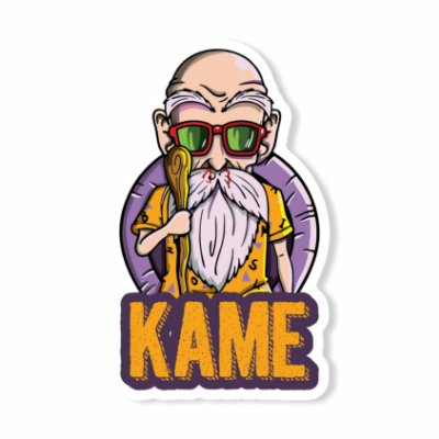 Mestre Kame Sticker