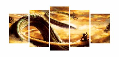 Goku Shenlong Mosaico