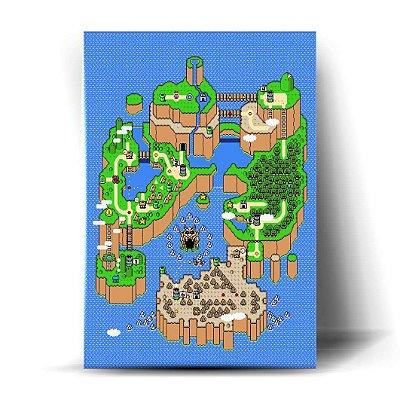 Mapa Super Mario Bros