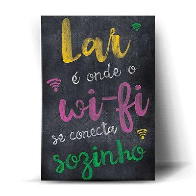 Lar É Onde O Wi-Fi Se Conecta Sozinho