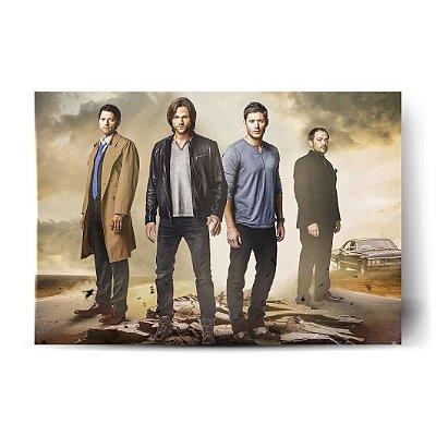 Supernatural - Castiel / Sam / Dean / Crowley