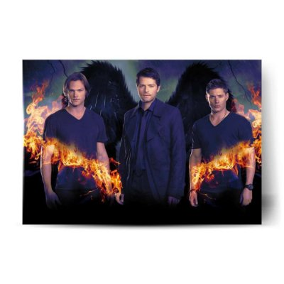 Sam / Castiel / Dean