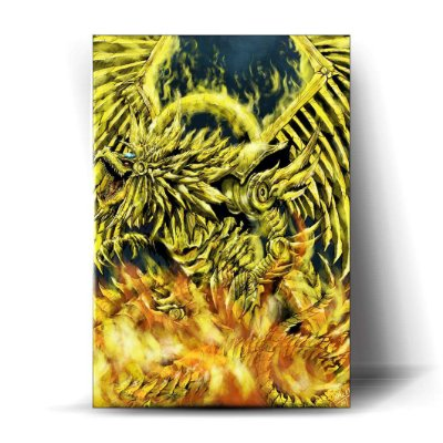 Dragão Alado de Rá - Art
