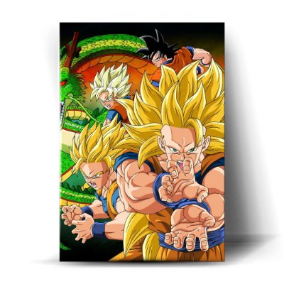 Goku Super Sayajin Art