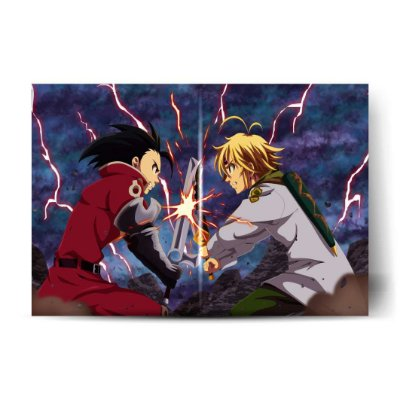 MELIODAS VS ZELDRIS