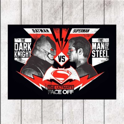 DARK KNIGHT VS MAN OF STEEL