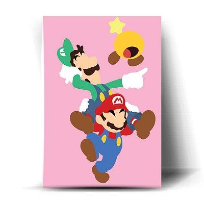 Luigi e Mario Minimalista