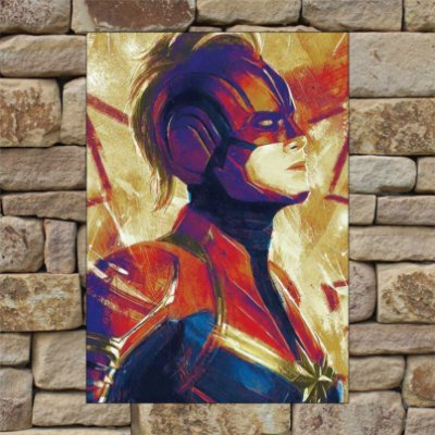 CAPITÃ MARVEL ART