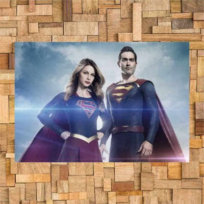 SUPERGIRL AND SUPERMAN