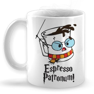 Caneca Espresso Patronum