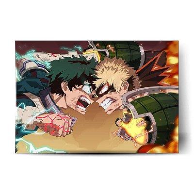 Midoriya vs Bakugou