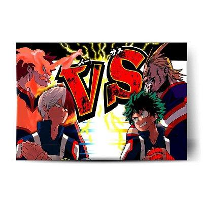Todoroki vs Midoriya