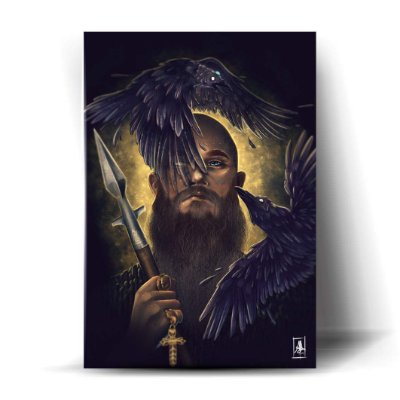 Vikings Corvos Art