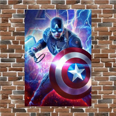 STEVE ROGERS GOD OF THUNDER