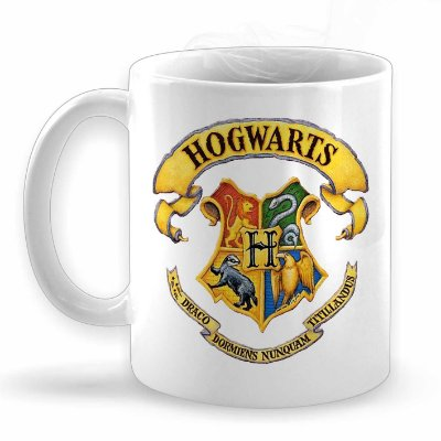 Caneca Hogwarts