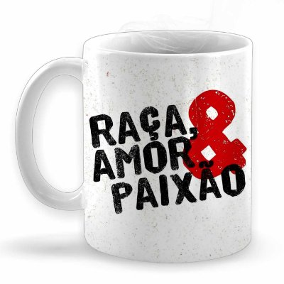 Raça Amor & Paixão Caneca