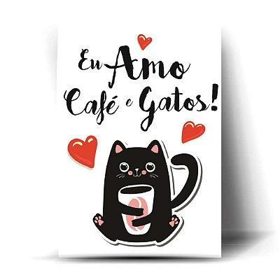 Eu Amo Café e Gatos !