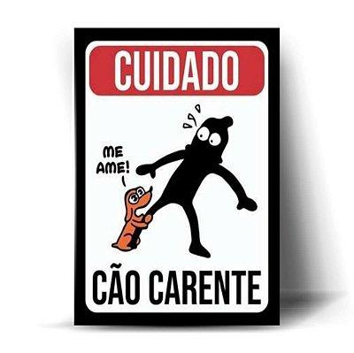 Cuidado - Cão Carente