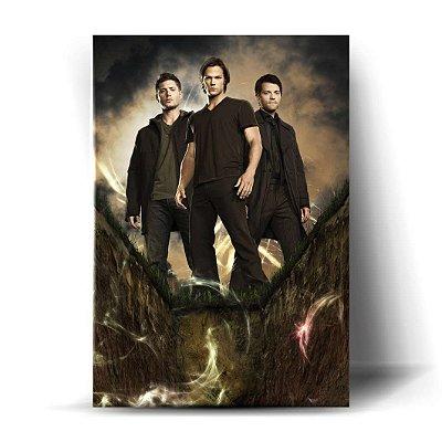 Dean, Sam e Castiel