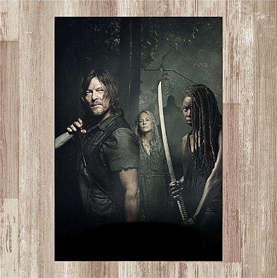 Daryl, Carol, Michonne