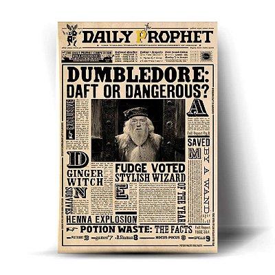 Dumbledore: Daft or Dangerous?