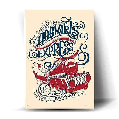 Hogwarts Express Art