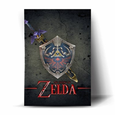 Master Sword And Hylian Shield #02