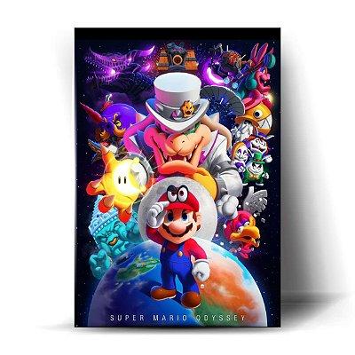 Mario Odyssey Art