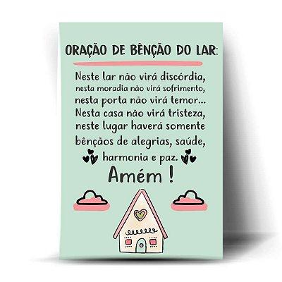 Oração de bênção do lar