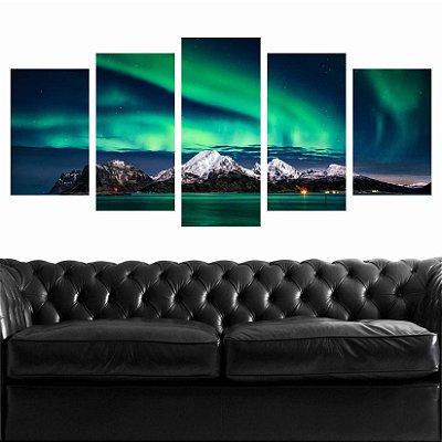 Mosaico Aurora Boreal