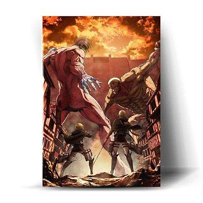 Attack on Titan - Shingeki No Kyojin #01