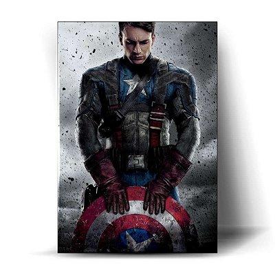 Capitão América 30x20cm - Promoção