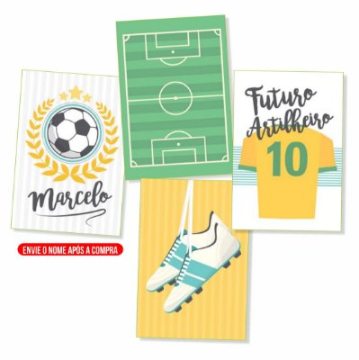 Kit Futebol Futuro Artilheiro