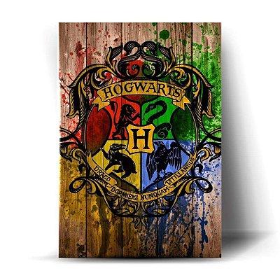Brasão Hogwarts Art
