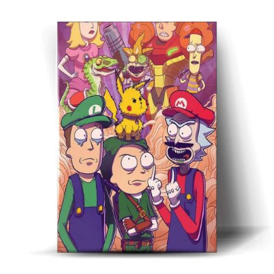 Rick and Morty - Nintendo Universe