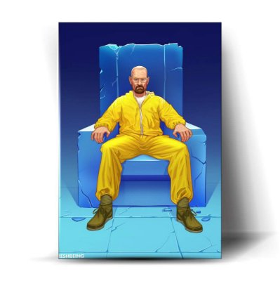 Breaking Bad Trono Art