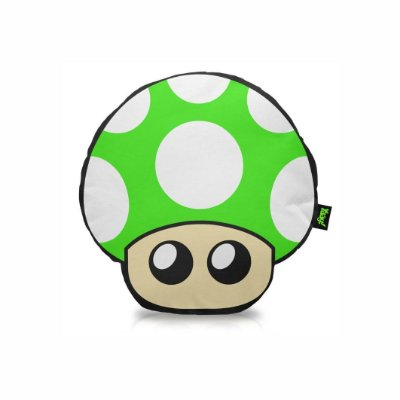 Almofada Cogumelo Verde - 1UP