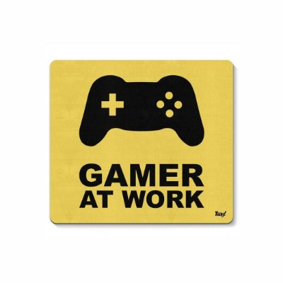 Gamer At Work - Mouse Pad