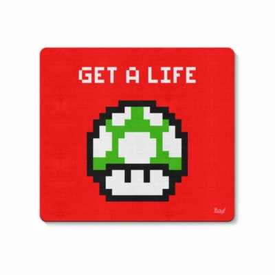 Cogumelo - Get a Life Mouse Pad