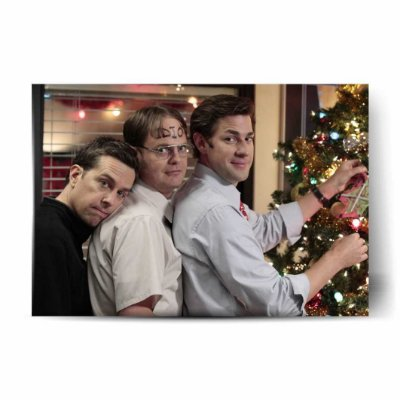 Andy, Dwight e Jim - The Office