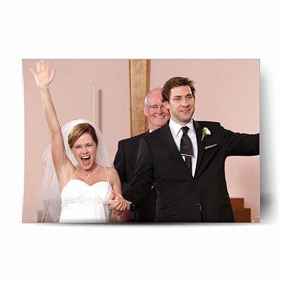 Pam e Jim Casamento- The Office