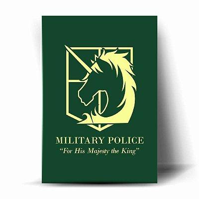 Attack on Titan - Polícia Militar