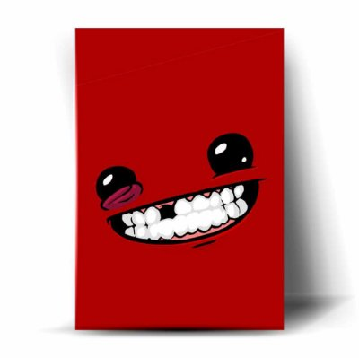 Super Meat Boy Minimalist