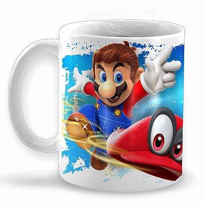 Super Mario Odyssey - Caneca