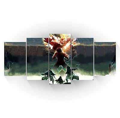 Attack on Titan - Shingeki no Kyojin - Mosaico
