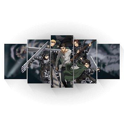 Reconhecimento - Shingeki no Kyojin - Mosaico