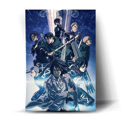 Reconhecimento Season Finale - Shingeki no Kyojin